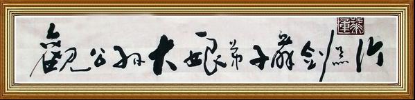 谭华书法经典精品1