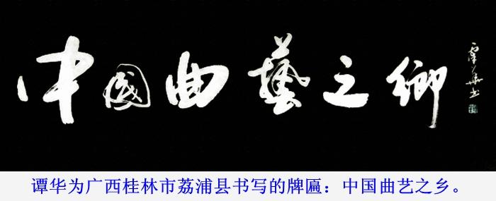 谭华书法招牌系列3
