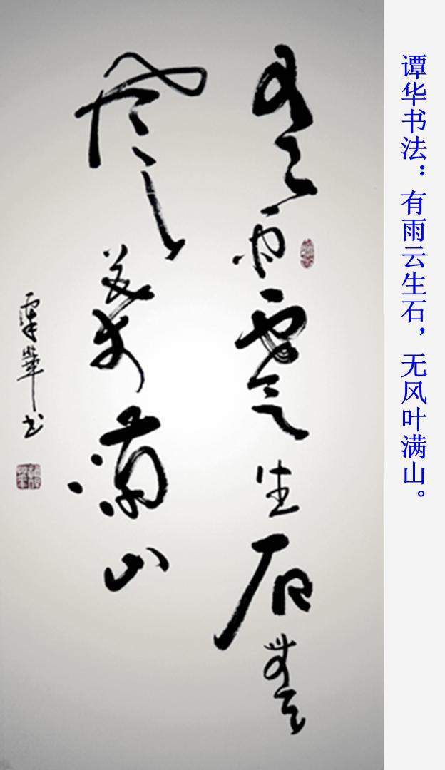 谭华书法作品欣赏161