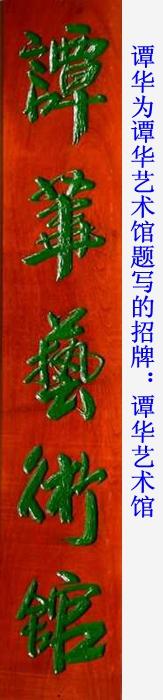 谭华书法招牌系列18