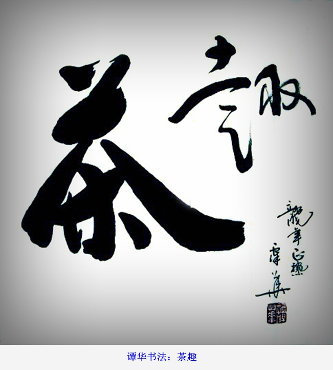 谭华书法作品欣赏72